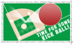 picture of a kickball